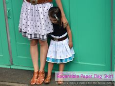 mother-daughter-reversible-paper-bag-skirt-tutorial-DIY-2