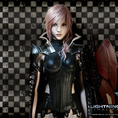 Final Fantasy - Lightning! <3