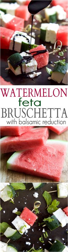 Watermelon Feta Brus