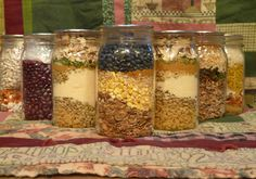 Meals in a jar or food pouches