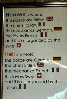 Heaven and Hell defined.