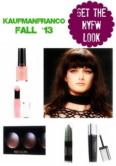 Get The New York Fashion Week Look: KaufmanFranco By Revlon @VeraSweeney | http://ladyandtheblog.com