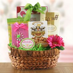 Number 1 Mom  Mothers Day Gift Basket   $69.95