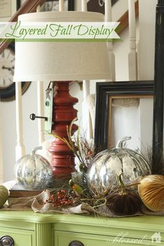 Simple Layered Fall Display | MyBlessedLife.net