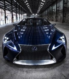 Lexus LF-LC - One of the concept cars we're Tired Of Waiting For. Click to see more. #sportscars #spon