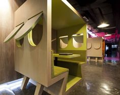 I want a booth. In the office, and at home.