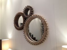 Casalife Interlocking Cog Wall Mirrors | IDS 2014 Highlights - The Dreamhouse Project