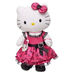 Perfect in Pink Hello Kitty--Build A Bear :-)