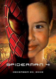 Jack's Invitation for his spiderman 4th Birthday party