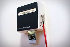 Instaprint print your Instagram pictures wirelessly by their hashtag. So you could have a Instagram party. Interesting