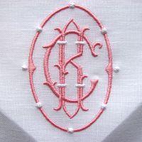 pink monogram
