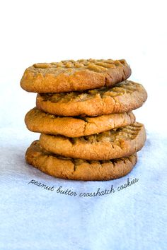 Gluten Free Crunchy Peanut Butter Cookies