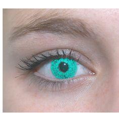 Aqua Colour Contact Lenses