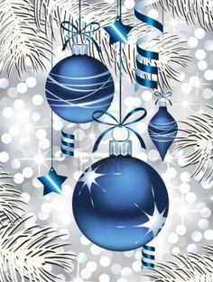 Image detail for -Blue Christmas Ornaments Royalty Free Cliparts, Vectors, And Stock ...