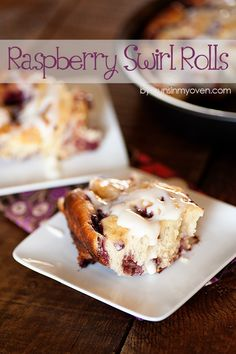 Raspberry Sweet Rolls recipe by @Buns In My Oven