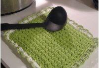 Crunch Stitch Potholder