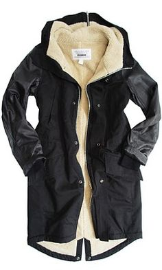Democracy of Nevermind Parka in black