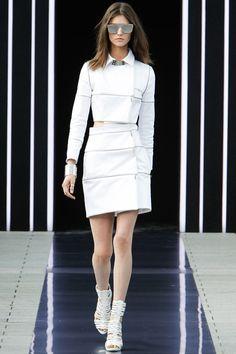 #MaximeSimoëns #Spring2014 #Catwalk #trends #ParisFafhionWeek #Paris #SS2014 #White #blanco