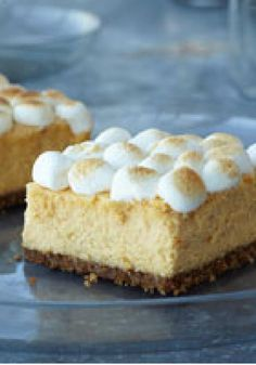 PHILADELPHIA Sweet Potato Cheesecake — The flavor profile of a favorite sweet potato side dish is captured in this luscious dessert recipe that makes enough to feed a crowd.