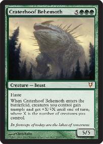 MTG Craterhoof Behemoth Avacyn Restored Condition: NM/M MYTHIC RARE $2.99 FREE SHIPPING!
