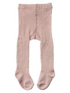 Baby Gap dot tights. A #CanDoBaby! fave.