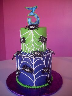 Spiders and web cake