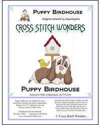 Puppy Birdhouse