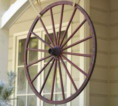 Wagon Wheel-Every Country Home Needs One.