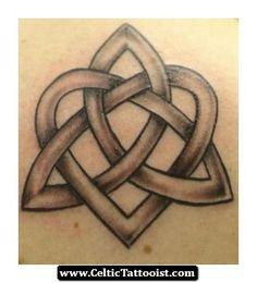 Heart Celtic Tattoo 01 - http://celtictattooist.com/heart-celtic-tattoo-01/