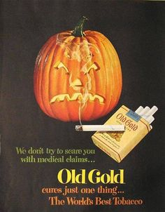 Old Gold | Tabaco vintage poster #Tobacco #Smoke #Posters #Ads #Adverts #retro #Tabaco #Cigarrillos #Affiches #vintage