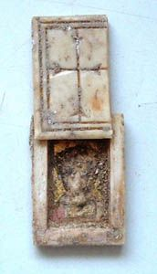Archaeologists excavating near the Givati parking lot area in Jerusalem's City of David have found a rare miniature prayer box of a Byzantine pilgrim to the Holy City.