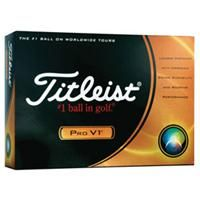 [FTPVN ]  	Titleist Pro V1    The Titleist Pro V1 golf ball has an enhanced aerodynamics & softer feel! The Titleist Pro V1 provides long distance with a Drop-And-Stop™ performance.    Product code: FTPVN  Qty:	12-23	24-47	48+  ea.	$71.69	$63.09