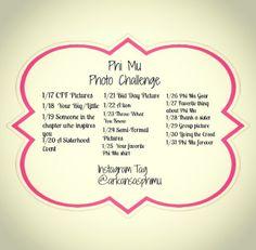 Instagram PR Challenge! #PhiMu #Instagram #IG #PR