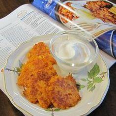 Kerry's Sweet Potato Latkes Recipe - Allrecipes.com  #AllrecipesMag