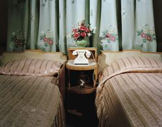my aunt & uncle's room looked like this