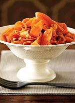 Carrot Ribbons with Cashews