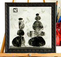 monoprint: cairns
