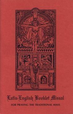 The most beautfiul prayers to pray before and after the Mass !  Latin - English Tridentine Booklet Missal