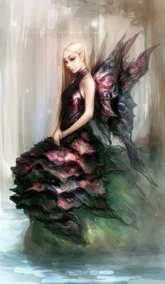 Fantasy Fairy Art, Fairy Pictures, Fairy Images