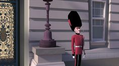 Royal Pain by Natalie Wetzig. A palace guard befriends a pest.