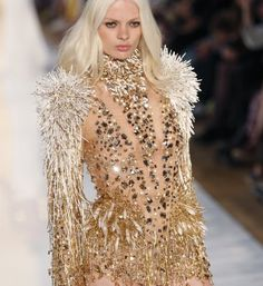 Alexandre Vauthier using Swarovski Elements