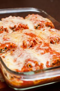 Spinach Lasagna Rolls!