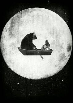 Moon Flight by Rubbishmonkey