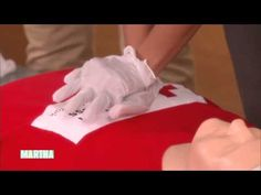 How to Perform CPR the correct way, with Martha Stewart and Lipica Shah of the Red Cross.