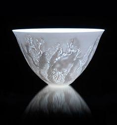 Coastal Light :: Ceramics by Angela Mellor at Studiopottery.co.uk - 2012. artists, art cambridgewhat, angela mellor, 2012, ceramics, studiopotterycouk, coastal light, craft ideas, crafts