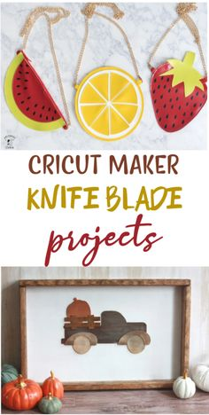 If you have a Cricut Maker, you know that you  can make tons of amazing craft projects with it. One of our favorite things to  use it for is making things with the Cricut Maker Knife Blade like with these  projects! #cricut  #diecutting #diecuttingmachine #cricutmachine #cricutmaker #diycricut  #diycricutprojects #cricutideas #cutfiles #svgfiles #diecutfiles #cricutideas  #diycricutprojects #cricutprojects #cricutcraftideas #diycricutideas
