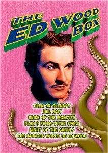 Amazon.com: The Ed Wood Box (Glen or Glenda / Jail Bait / Bride of the Monster / Plan 9 from Outer Space / Night of the Ghouls / The Haunted...