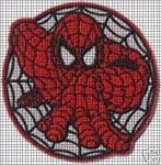 Spiderman Circle Crochet Pattern