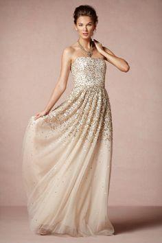 gorgeous sparkle gown #bhldn