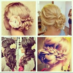 Cute Prom or special occasion hairstyles